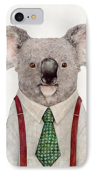 Portraits iPhone 8 Case - Koala by Animal Crew