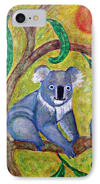 Koala Sunrise IPhone Case