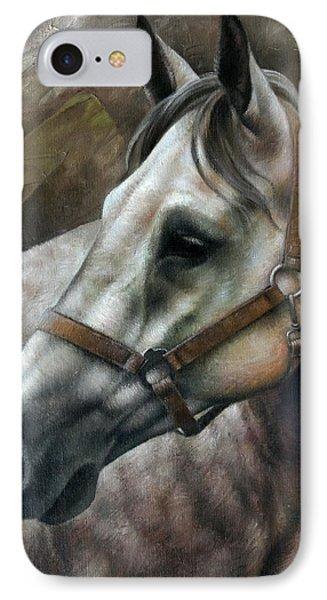 Horse iPhone 8 Case - Kogarashi by Arthur Braginsky