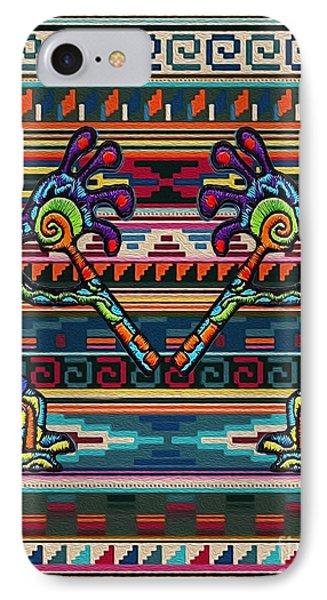 Kokopelli Art IPhone Case