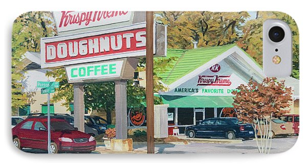 Krispy Kreme At Daytime IPhone Case
