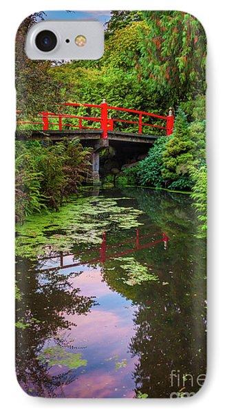 Kubota Gardens Bridge Number 1 IPhone Case