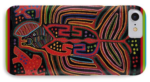 Kuna Indian Flying Fish  IPhone Case
