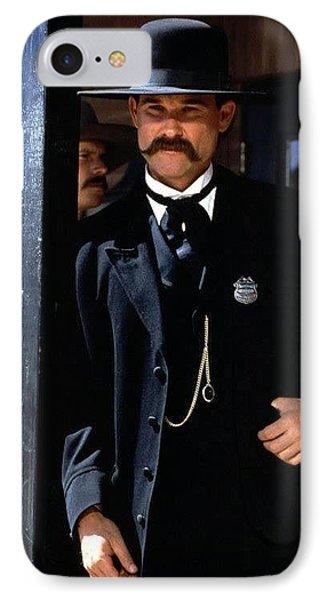 Kurt Russell As Wyatt Earp Tombstone Arizona 1993-2015 IPhone Case