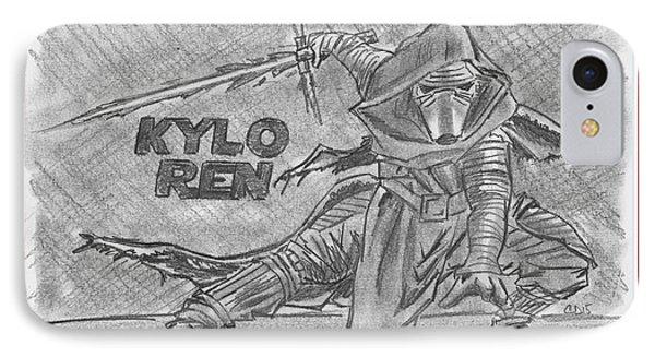 Kylo Ren The Force Awakens IPhone Case