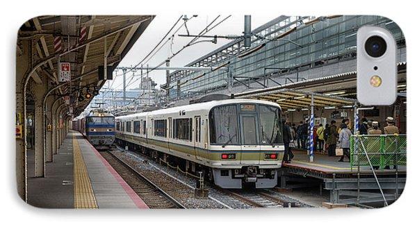 Kyoto To Osaka Train Station, Japan IPhone Case
