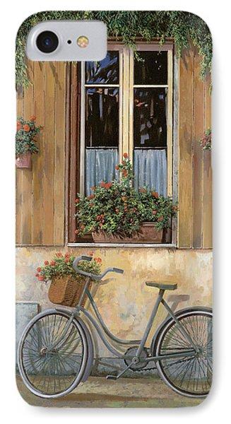 Bicycle iPhone 8 Case - La Bici by Guido Borelli