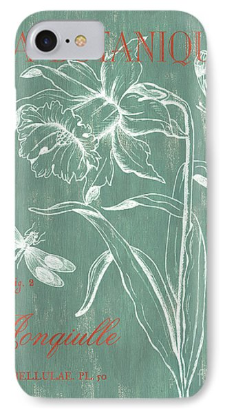 Dragon iPhone 8 Case - La Botanique Aqua by Debbie DeWitt