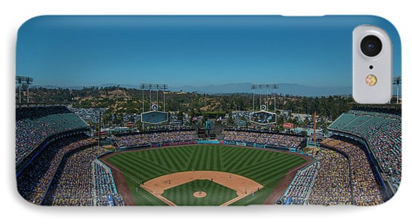 La Dodgers Stadium Baseball 2087 IPhone Case
