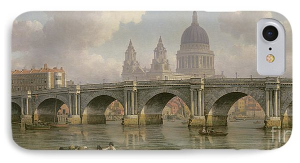 Blackfriars Bridge And St Paul's Cathedral IPhone Case