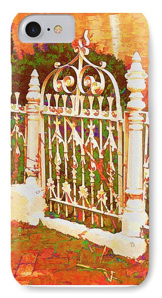 Lacy Garden Gate IPhone Case