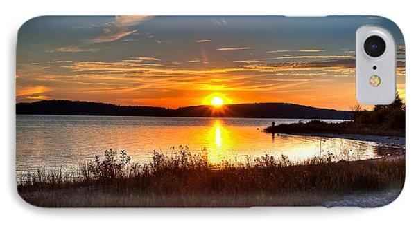 Lake Charlevoix Sunset IPhone Case