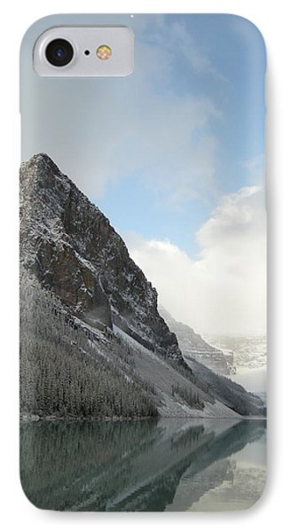 Lake Louise After First Snowfall  IPhone Case