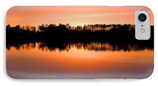 Lake Maumelle Sunset IPhone Case