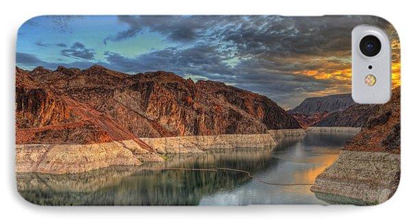 Lake Mead Sunrise IPhone Case