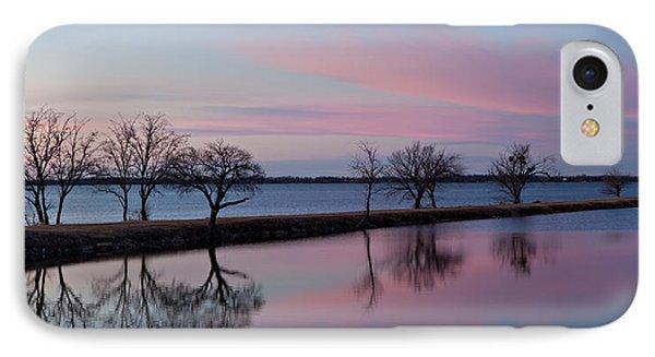 Lake Overholser Sunset IPhone Case