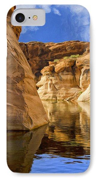 Lake Powell Stillness IPhone Case