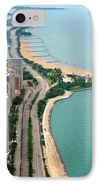 Lake Shore Dr . Chicago IPhone Case