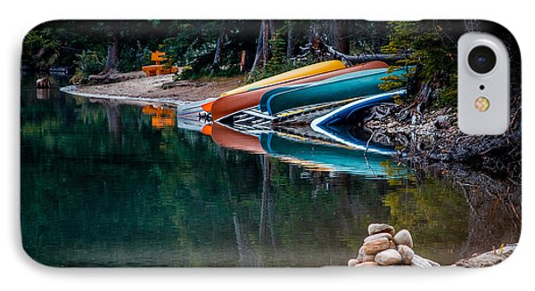 Kayaks At Rest IPhone Case