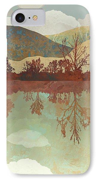 Landscapes iPhone 8 Case - Lake Side by Spacefrog Designs