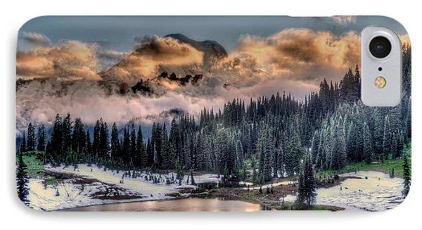 Lake Tipsoo, Mt Rainier IPhone Case