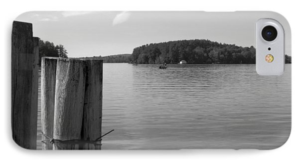 Lake Winnipesaukee Pilings IPhone Case