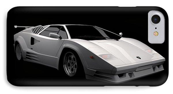 Lamborghini Countach 5000 Qv 25th Anniversary IPhone Case