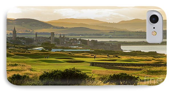 Landscape Of St Andrews Home Of Golf IPhone Case