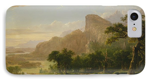 Landscape Scene From Thanatopsis IPhone Case