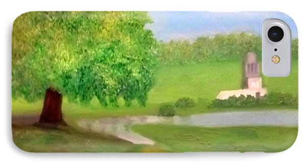 Landscape With Luxuriant Tree And Folly IPhone Case