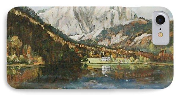 Langbathsee Austria IPhone Case