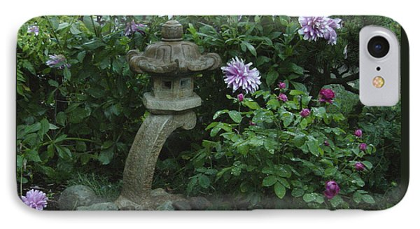 Lantern With Dahlia IPhone Case