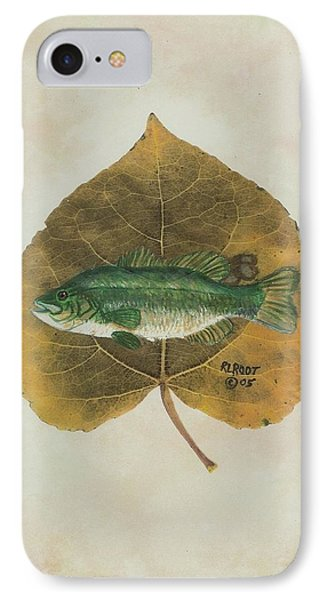 Large Mouth Bass IPhone Case