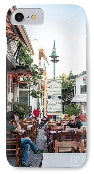 Larissa Old City Street View IPhone Case
