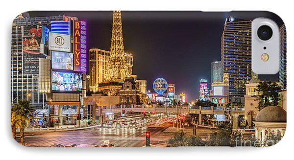 Las Vegas Strip Paris IPhone Case