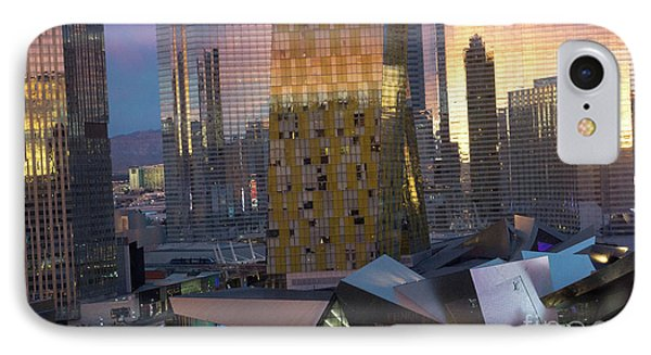 Las Vegas Sunrise Reflection IPhone Case