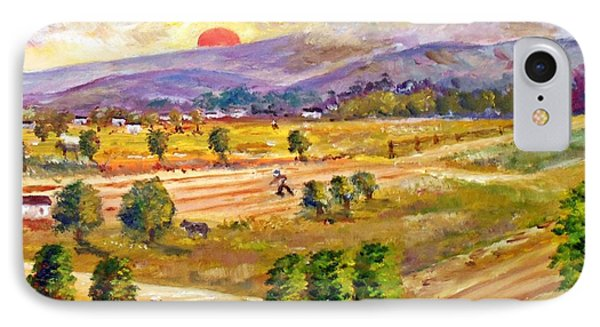 Lasithi Valley In Greece IPhone Case