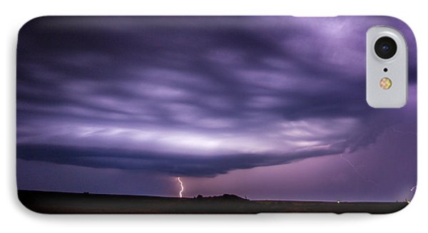 Nebraskasc iPhone 8 Case - Late July Storm Chasing 033 by NebraskaSC