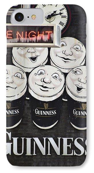 Late Night Guinness Limerick Ireland IPhone Case