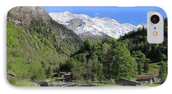 Lauterbrunnen Valley Switzerland IPhone Case