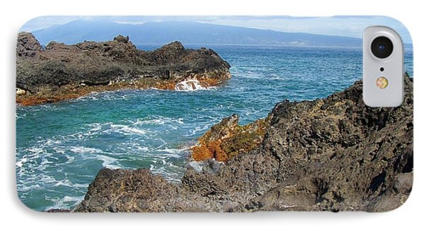 Lava Coastline - West Maui IPhone Case