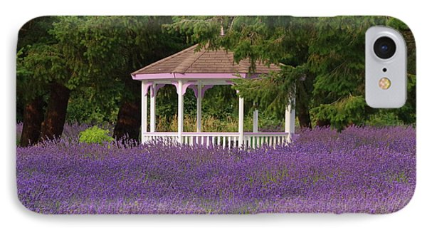 Lavender Gazebo IPhone Case