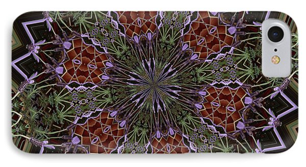 Lavender Mandala 1 IPhone Case