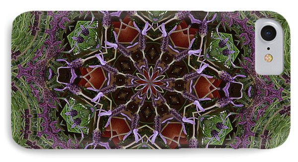 Lavender Mandala 2 IPhone Case