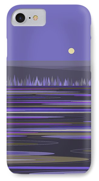 Lavender Reflections IPhone Case