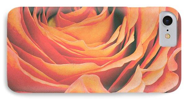 Rose iPhone 8 Case - Le Petale De Rose by Angela Doelling AD DESIGN Photo and PhotoArt
