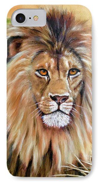 Le Roi-the King, Tribute To Cecil The Lion   IPhone Case