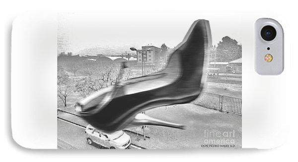Flying Stiletto IPhone Case