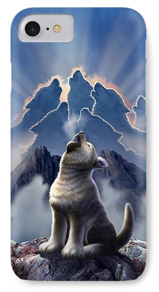 Mountain iPhone 8 Case - Leader Of The Pack by Jerry LoFaro