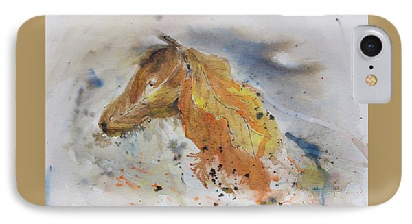 Leafy Horse IPhone Case